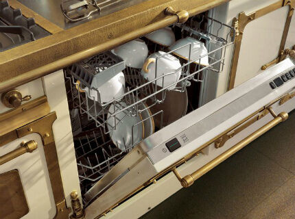 Расположение посуды в ПММ