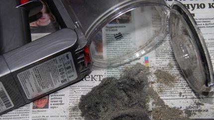 Пластиковые детали контейнера для сбора мусора и пыли
