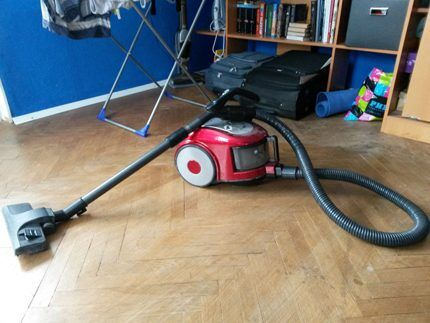 Ready-to-use Samsung SC6570 vacuum cleaner
