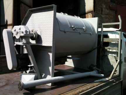 Промышленная бетономешалка
