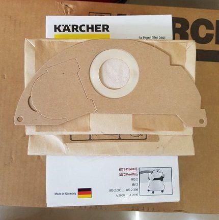 Бумажный фильтр-мешок Karcher