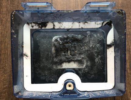 Обслуживание аква-бокса после уборки