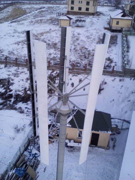Ветрогенератор SAV