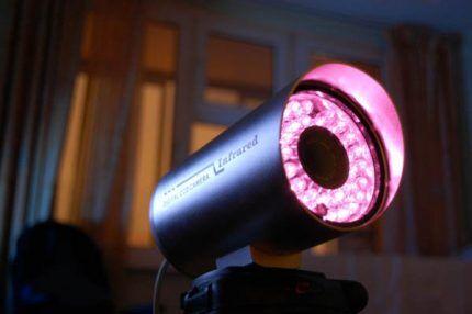 ИК подсветка видеокамеры