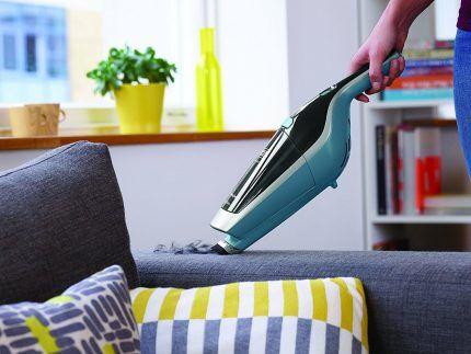 Очистка мягкой мебели