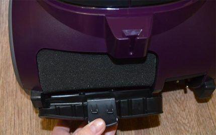 Фильтр очистки воздуха на выходе