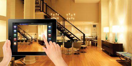 Управление системой освещения через планшет