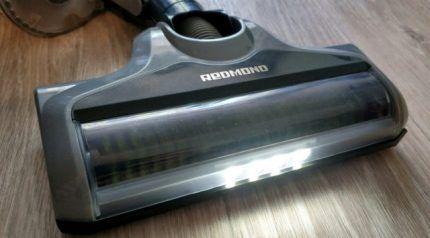 Пылесос Редмонд с подсветкой
