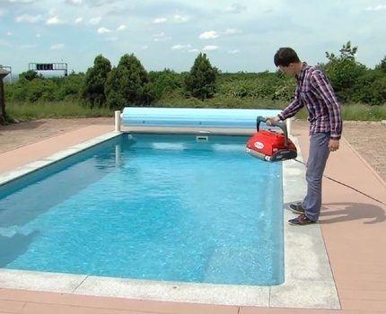 Выбор пылесоса для бассейна