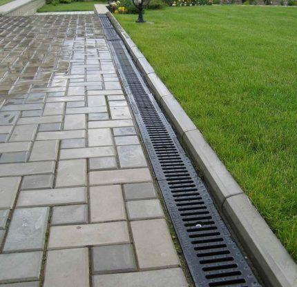Линейная система водоотведения