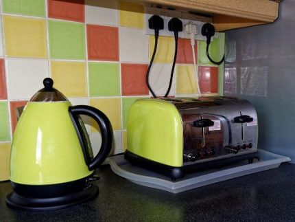 Электропитание кухни