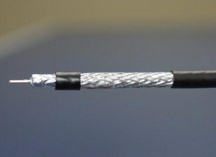 Коаксиальный тип провода