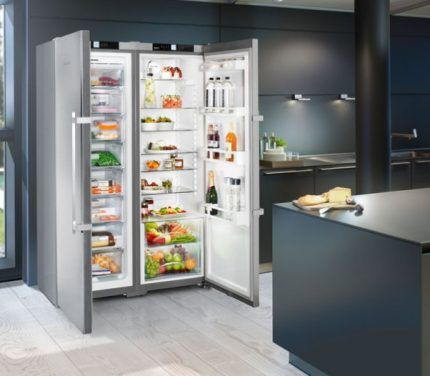 Холодильник марки Liebherr