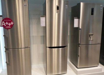 Ассортимент холодильников LG