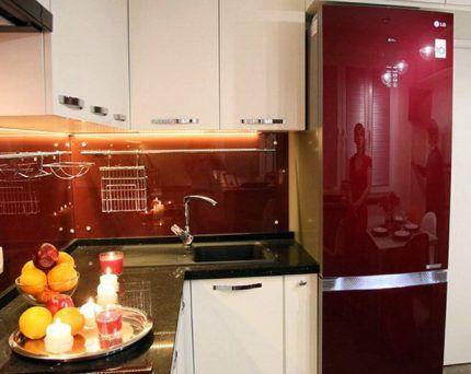 Одна из моделей холодильников марки LG