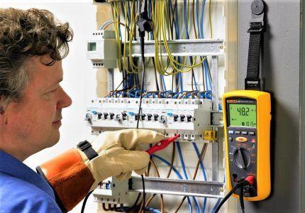 Тестирование электрики в щите