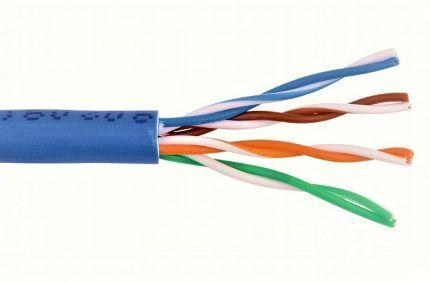Витая пара - интернет-кабель