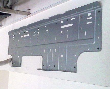 Монтажная панель внутреннего блока