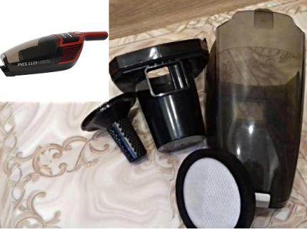 Система фильтрации пылесоса