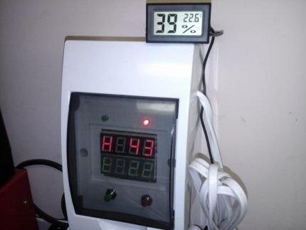 Гигрометр с термодатчиком