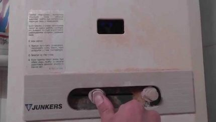 Устройства для управления газовой колонки