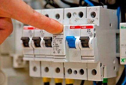 Защитные устройства для электросети