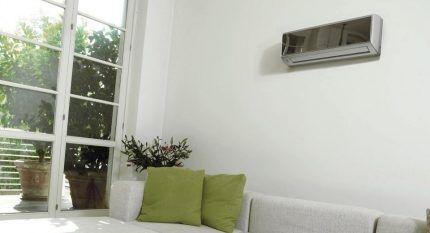 Сплит-система на стене