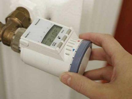 Конструкция электронной термоголовки