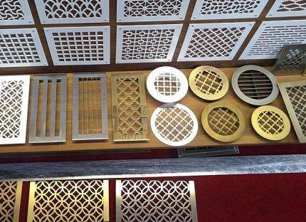 Декоративные решетки для вентиляции