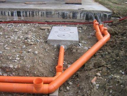 Пластиковые трубы для водоотведения