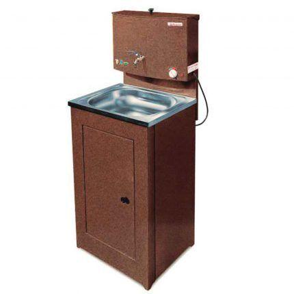 Умывальник для дачи с функцией подогрева воды