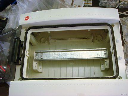 Новый ящик для автоматов