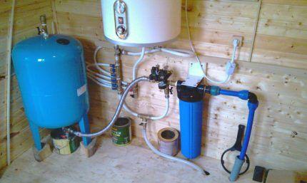 Гидроаккумулятор для системы водоснабжения