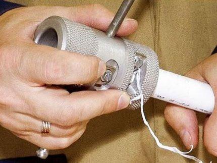 Перфорированные алюминиевой фольгой трубы