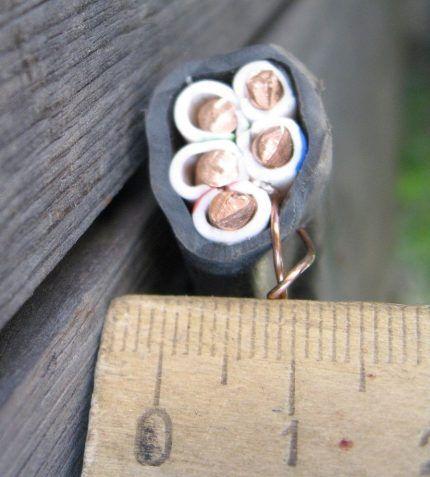 Параметры кабеля