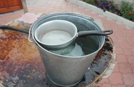 Колодезная вода для биохимического анализа