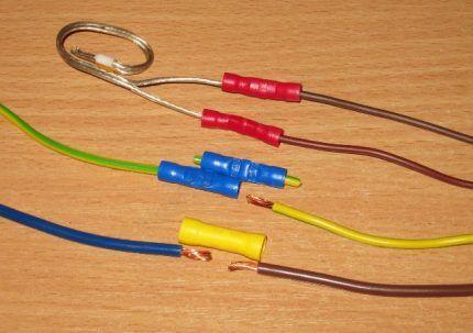 Изолированные гильзы для соединения проводов