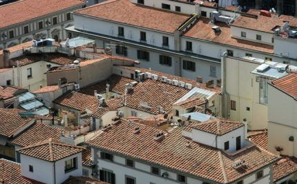 Сплит-система на крыше