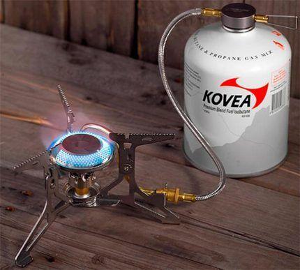 Горелка газовая мультитопливная