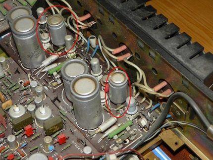 Полярные конденсаторы
