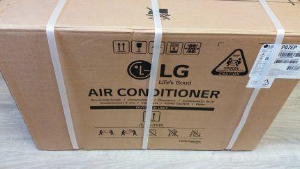 Сплит система LG P07EP в упаковке