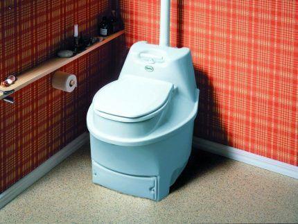 Место для торфяного туалета