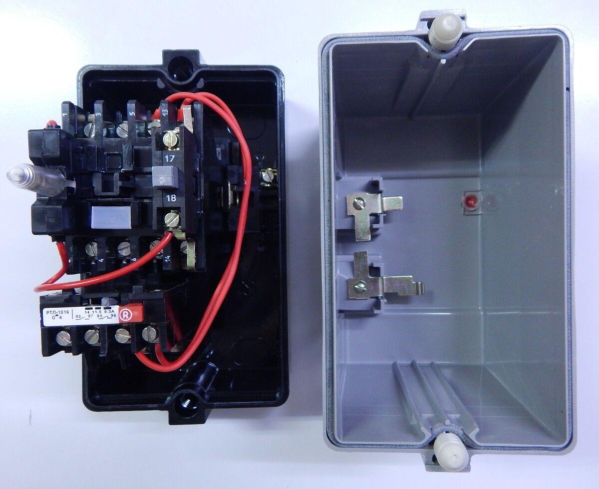 Схема подключения пускателя 380 тепловым реле фото 990
