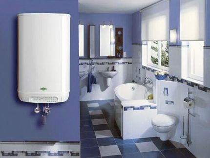 Мощность газового водонагревателя