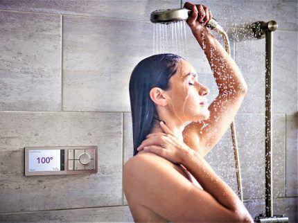 Стабильная температура воды в душе