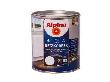 Краска для радиаторов Alpina Heizkoerper