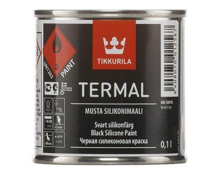 Жаропрочная краска Tikkurilla