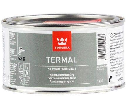 Силиконоалюминиевая термостойкая краска Tikkurilla