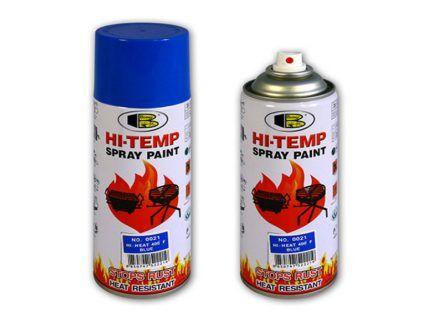Баллон цветной краски Bosny Hi-Temp