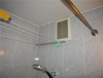 Размещение элементов системы вентиляции